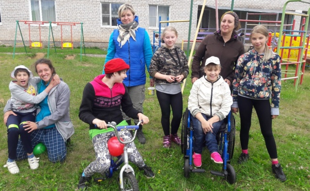 Thumbnail for - Поможем детям-инвалидам в Боброво